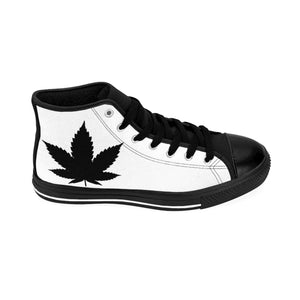 7 Leaf Cannabis Women's High-top Sneakers