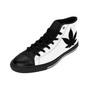 7 Leaf Cannabis Men's High-top Sneakers