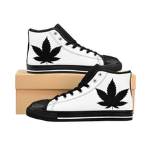 Load image into Gallery viewer, 7 Leaf Cannabis Women's High-top Sneakers