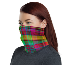 Load image into Gallery viewer, Plaid (1) Neck Gaiter/ Mask