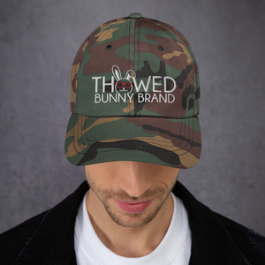 Thowed Bunny Brand Camo Dad hat