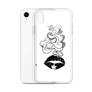 Smokin Weed Lips iPhone Case