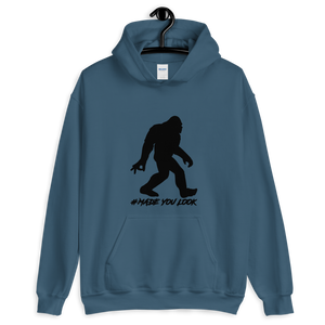 Bigfoot Made You Look Unisex Hoodie