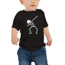 Load image into Gallery viewer, Dab Skeleton Baby Jersey Short Sleeve Tee