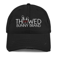 Load image into Gallery viewer, Thowed Bunny Brand Distressed Dad Hat
