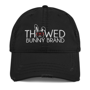 Thowed Bunny Brand Distressed Dad Hat
