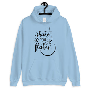 Shake Your Flakes Christmas Unisex Hoodie