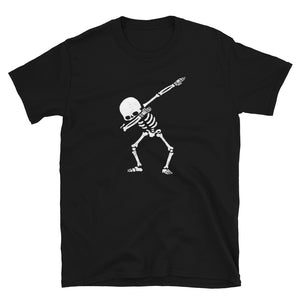 Dab Skeleton Short-Sleeve Unisex T-Shirt