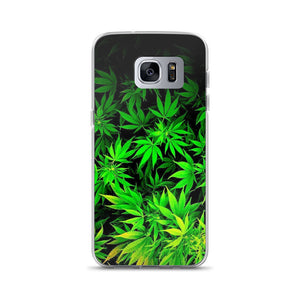 Cannabis Plants Samsung Case