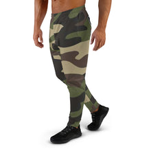 Load image into Gallery viewer, Thowed Bunny Brand Pocket Logo (Camo Green) Men's Joggers