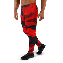 Load image into Gallery viewer, Thowed Bunny Brand Pocket Logo (Camo Red) Men's Joggers