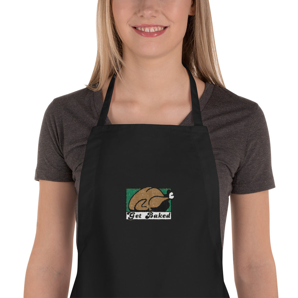 Get Baked Embroidered Apron