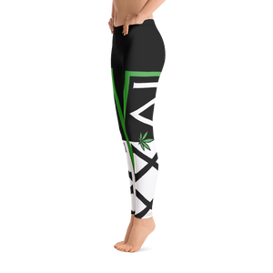 420 Weed Cannabis Leggings