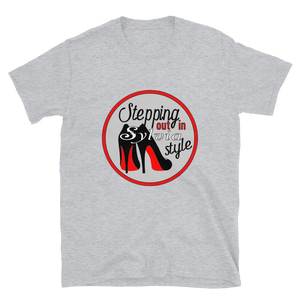 Stepping Sylvia Style Short-Sleeve Unisex T-Shirt