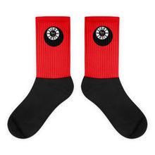 Load image into Gallery viewer, Eight 2 Eight Thowed Bunny Brand (Red) Socks