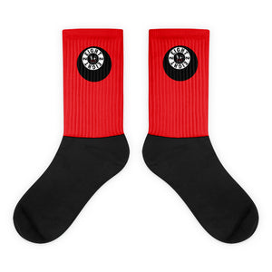 Eight 2 Eight Thowed Bunny Brand (Red) Socks