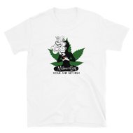 Namast'ay High Cannabis Short-Sleeve Unisex T-Shirt