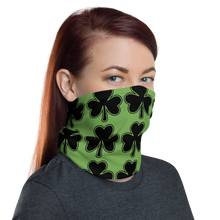 Load image into Gallery viewer, Clover Green Neck Gaiter/ Mask