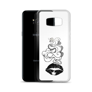 Smokin Weed Lips Samsung Case