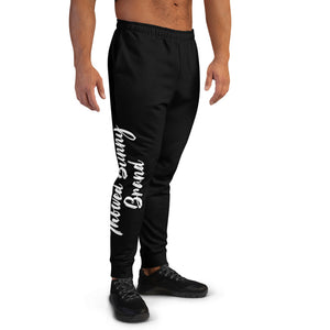 Thowed Bunny Brand Pocket Logo (Black) Men's Joggers