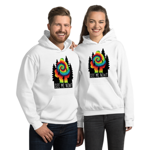 See me now? Bigfoot Unisex Hoodie