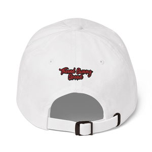 Thowed Bunny Brand Red Logo Dad hat