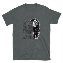 Load image into Gallery viewer, Marley Cant Cope Theres Hope Short-Sleeve Unisex T-Shirt