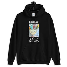 Load image into Gallery viewer, Anxiety, Caffeine & Cuss Words Unisex Hoodie