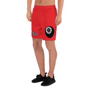 Eight 2 Eight Thowed Bunny Brand (Red) Men's Athletic Long Shorts