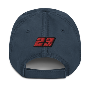 JJ 23J Parrish Kart Distressed Dad Hat