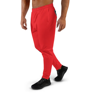 Thowed Bunny Brand Pocket Logo (Red) Men's Joggers