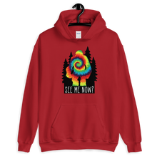 Load image into Gallery viewer, See me now? Bigfoot Unisex Hoodie