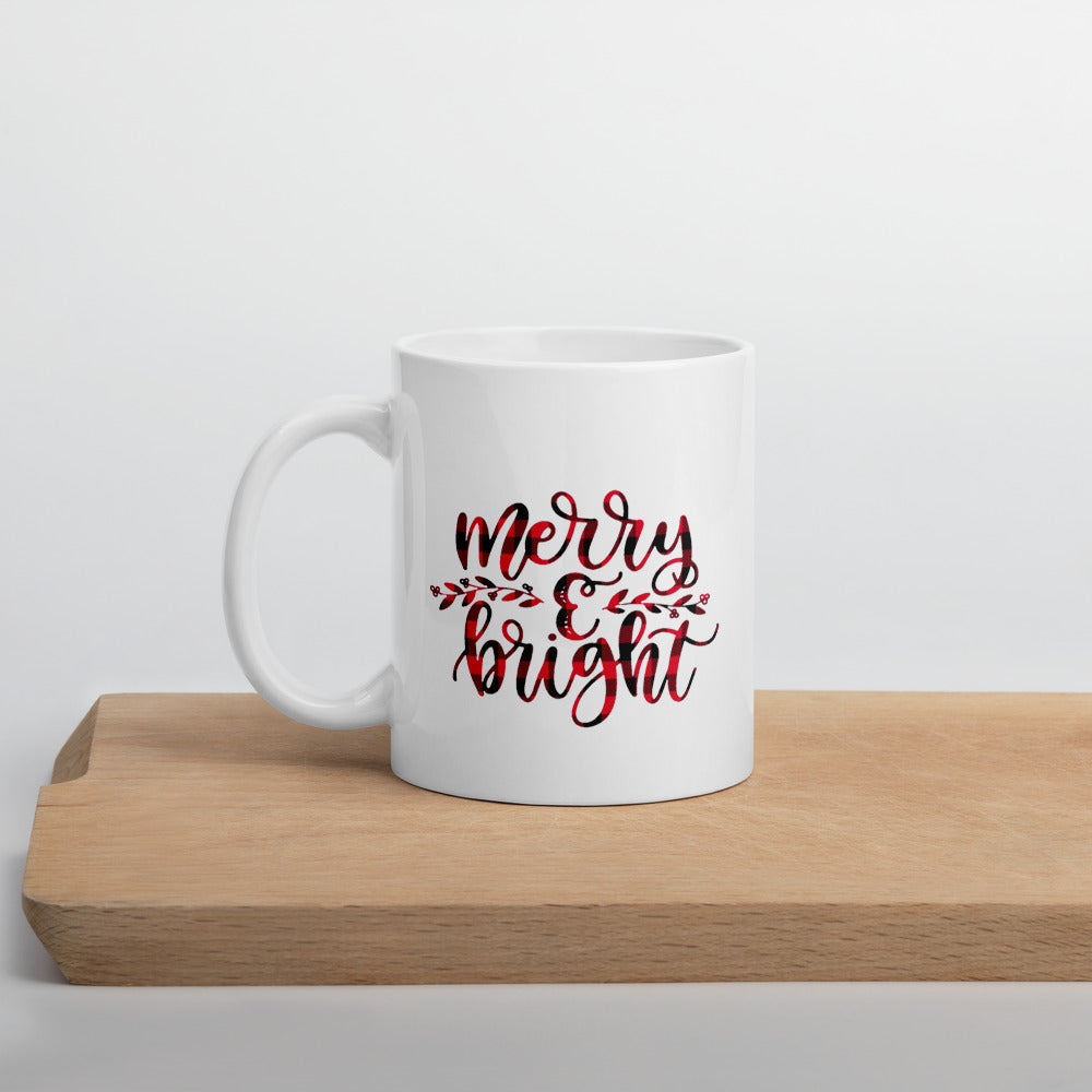 Merry and Bright Christmas Mug