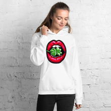 Load image into Gallery viewer, Lucky Lips Clover Unisex Hoodie