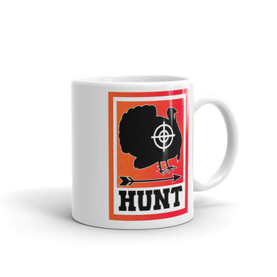 Hunt Turkey Mug