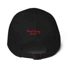 Load image into Gallery viewer, Thowed Bunny Brand Red Logo Dad hat