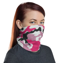 Load image into Gallery viewer, Pink Camo Neck Gaiter/ Mask