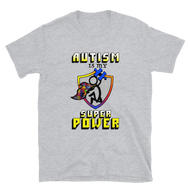 Autism Super Power Short-Sleeve Unisex T-Shirt