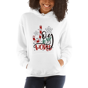 Joy to the World Christmas Unisex Hoodie