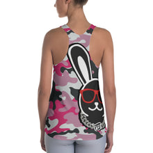Load image into Gallery viewer, Thowed Bunny Brand (Camo Pink) Women's Racerback Tank