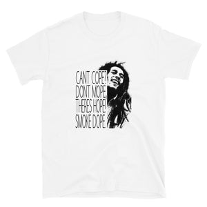 Marley Cant Cope Theres Hope Short-Sleeve Unisex T-Shirt