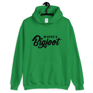 Wheres Bigfoot Unisex Hoodie