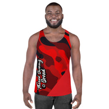 Load image into Gallery viewer, Eight 2 Eight Thowed Bunny Brand (Red/Camo)Unisex Tank Top
