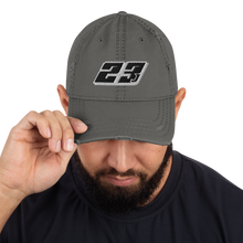 Load image into Gallery viewer, Parrish 23J Kart Distressed Dad Hat