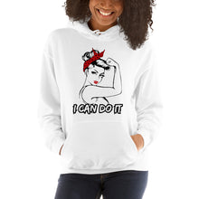 Load image into Gallery viewer, I can do it (Rosie) Unisex Hoodie