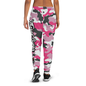 Thowed Bunny Brand (Camo Pink) Women's Joggers