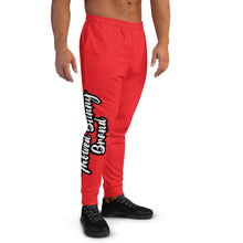 Load image into Gallery viewer, Thowed Bunny Brand Pocket Logo (Red) Men's Joggers