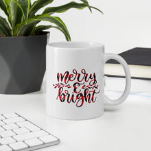 Load image into Gallery viewer, Merry and Bright Christmas Mug