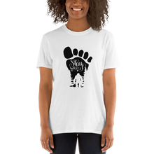 Load image into Gallery viewer, Stay Wild Bigfoot Short-Sleeve Unisex T-Shirt