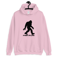Load image into Gallery viewer, Bigfoot Made You Look Unisex Hoodie